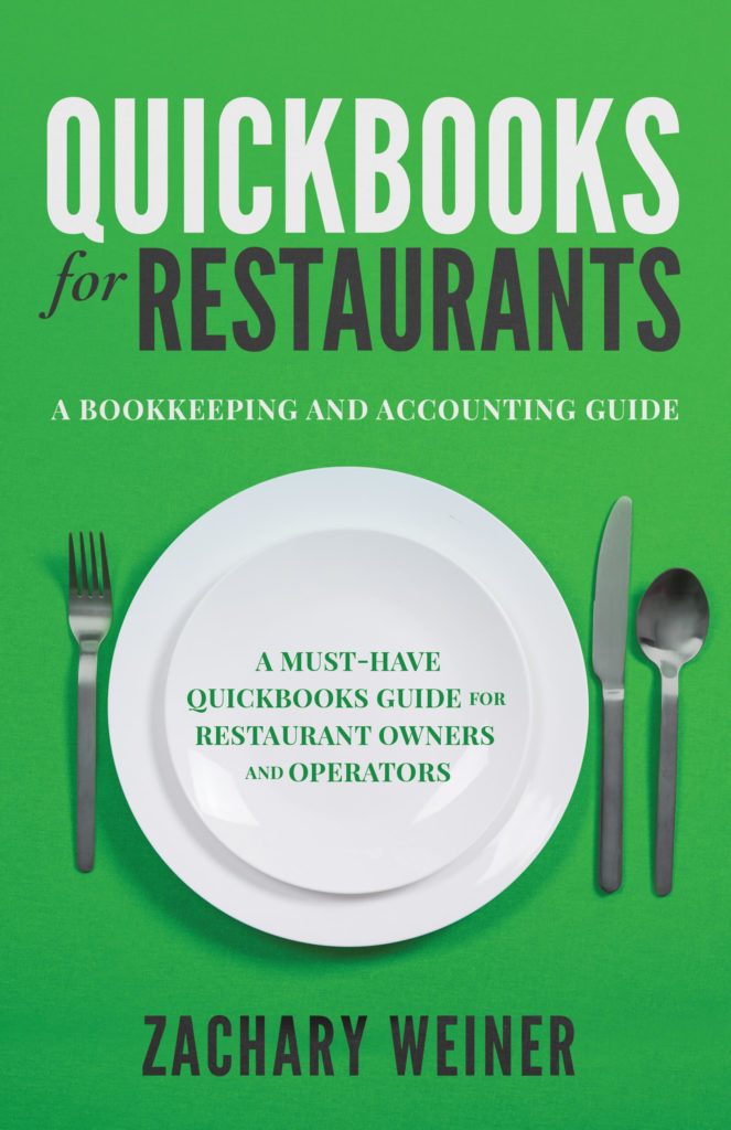 Quickbooks for Restaurants Zachary Weiner Book Cover